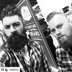 Were back at it again!!! #Repost from @bar2cci  Whatchu know about that #beardcare? We're at the #seasonschristmasshow2016. Merry Christmas! (Feels so good and wrong saying that). . . . . #beard #beardgang #beardlife #toronto #beardlove #beardbros #bpd #beards #mensfashion #menshair #hairstyle #hair #canada #queenwest