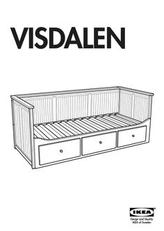 VISDALEN Bed Instructions Annotated - IKEA FANS