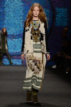 Anna Sui Fall 2015 Ready-to-Wear Collection