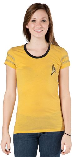 This Star Trek Captain Kirk Costume Shirt will keep you looking sexy and ready to perform your duties on the USS Enterprise. Geek Fashion, Funky Fashion, Geek Chic, Geek Style, My Style, Star Trek Shirt, T Shirt Costumes, Cosplay Outfits, Look Cool