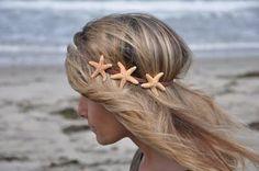 Starfish headband.
