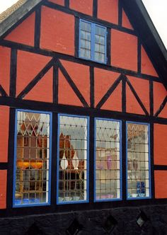 Glassshop on the island of Bornholm, Danmark