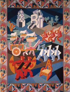 Fortunato Depero, Festa della Sedia, 1927