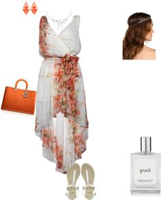 """""""garden party outfit"""" by avamoselle on Polyvore"""