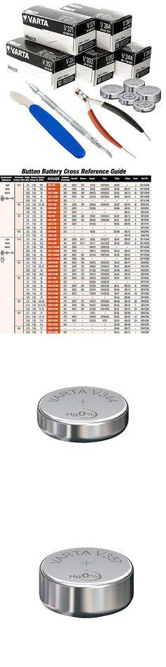 Watch Batteries 98625: 50Pc Varta Watch Battery Kit + 3 Free Bonus Tools, Diy Watch Repair Fast Ship -> BUY IT NOW ONLY: $52.95 on eBay!