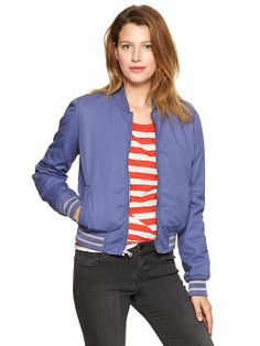 Bomber jacket from the gap. $39.