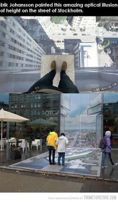 Mind blowing optical illusion…