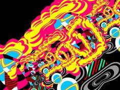 Ben Jones Interview Ben Jones, Pop Art Illustration, Weird Art, Dark Ages, Painting Inspiration, Design Art, Neon Signs, Moca, Artist