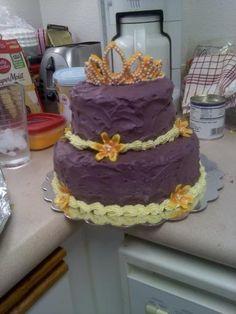 rapunzel cake - Google Search