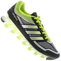 Tênis adidas Springblade - Masculino - PRETO/VERDE CLA Desconto Centauro para Tênis adidas Springblade - Masculino - PRETO/VERDE CLA por apenas R$ 999.90.