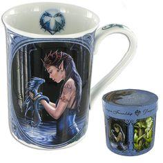 Water Dragon Mug by Anne Stokes