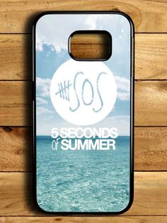 5 Second Of Summer Blue Sea Samsung Galaxy S6 Edge Case