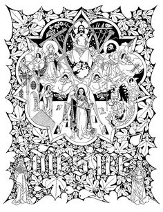 line drawings adoremus - Google Search