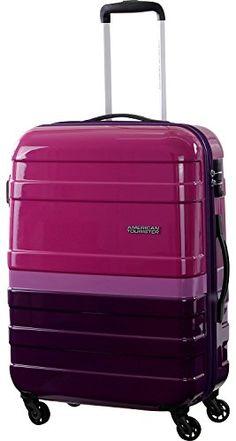 American Tourister Suitcase, 66 cm, 65 Liters, Fuchsia/ Violet American Tourister http://www.amazon.co.uk/dp/B00ZC18SGK/ref=cm_sw_r_pi_dp_aZ6Vvb1E4ZP52