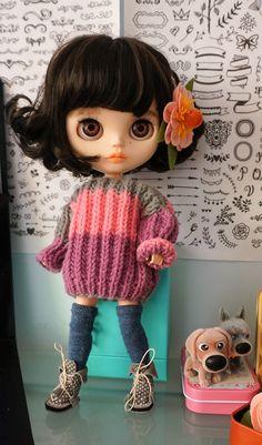 -blythe.. Pretty Dolls, Cute Dolls, Beautiful Dolls, Ooak Dolls, Blythe Dolls, Japanese Toys, Doll Wardrobe, Doll Repaint, Collector Dolls