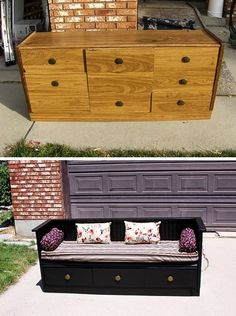 15 creative ways to transform old furniture beyond recognition