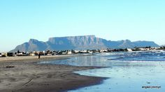 Melkbosstrand South Africa Wonderful Places, Beautiful Places, Golf Estate, Atlantic Beach, Table Mountain, Kruger National Park, Cape Town, Continents, Wonders Of The World