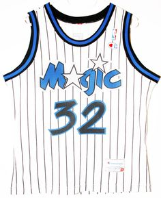 Champion NBA Basketball Orlando Magic Shaquille O Neal Trikot   Jersey Size  36 - Größe 1dd9d70b0