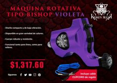 Diseño compacto de baja vibración Disponible en varios colores Sirve para linea y relleno
