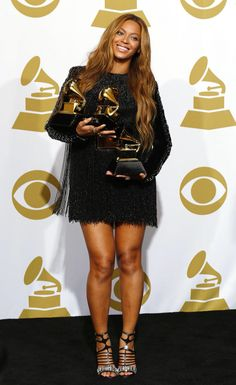 Beyonce for GRAMMYs 2015