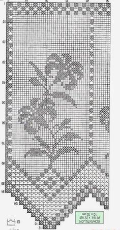 367 Fantastiche Immagini Su Tende Alluncinetto Filet Crochet
