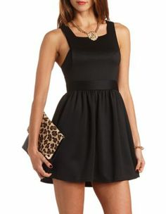 scuba high neck skater dress......can't wait for my body to get right. Totally love this dress