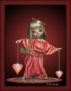 Anitram Graphics: Angel of Love... without wings... Happy Valentine...