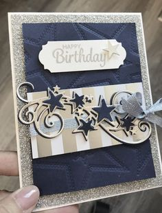 Best 12 So Many Stars Birthdays – Stamping with Avery's Owlery Masculine Birthday Cards, Birthday Cards For Men, Masculine Cards, Christmas Mom, Stampin Up Christmas, Christmas Cards, Birthday Sentiments, Star Cards, Fathers Day Cards
