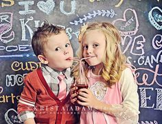 Just love this Valentines Day Photo by Krista Adams Photography. Cardigan and Lace Shirt are from Taylor Joelle Designs. http://taylorjoelle.com
