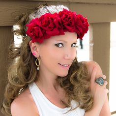 #LUVIT 😍 Red Roses for Valentine's! 🌹💖🌹 Available at KittyKatrina.com in our Specialty Flower Crowns Section 😘 #valentines #valentine #valentinegift #valentinesgift #valentinesday #valentinespresent #bemyvalentine #giftsforher #flowercrown #flowercrowns #floralcrown #floralheadband #flowerheadband #flowerheadbands #boho #bohochic #bohostyle #bohemian #bohemianstyle #ravecostume #raveoutfit #ravewear #ravefashion #ravegirls #festival #festivalfashion #festivalstyle #festivaloutfit