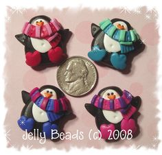 scarfpenguins by jelly beads, via Flickr