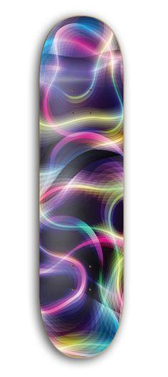 Fluke Skateboard Deck by Karim Rashid x Blank Plank