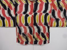 Japanese Kimono / Zugawari Silk