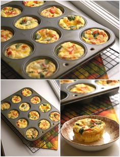 Make These Mini Frittatas for a Quick Breakfast in a Muffin Tray | Stylish Board