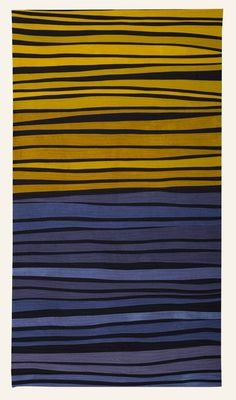 Color Study in Blue and Yellow by Janet Starr