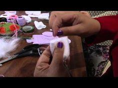 ▶ Passo a Passo - Guirlanda de Maternidade (programa Mulher.com) PARTE 02 - YouTube