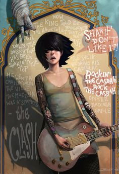 Rock the Casbah  by Rudy Faber