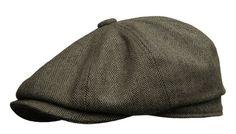 1940s Style Mens Hats Newsboy Gatsby Ivy Cap Golf Cabbie Driving Hat $35.00 AT vintagedancer.com