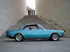 Sky blue BMW E9 2800CS