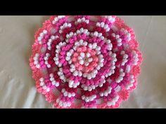Yuvarlak Pıtırcık Lif Modeli Yapımı - YouTube Flower Embroidery Designs, Embroidery Stitches, Crochet Motif, Crochet Patterns, Door Hanging Decorations, Tatting Jewelry, Crochet Scarves, Loom Knitting, Doilies