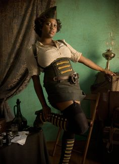 Military inspired Steampunk