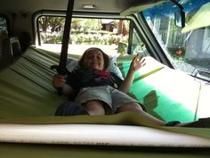 Image may have been reduced in size. Click image to view fullscreen. Camping Bunk Beds, Kids Cot, Dog Hammock, Sprinter Van, Remodeled Campers, Kid Beds, Campervan, Van Life, Motorhome