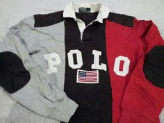 """Edition Joggers//Sweatpants In White and Navy Polo Ralph Lauren /""""P 67/""""  Ltd"""