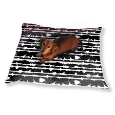 Uneekee Crystal Lightning On Stripes Dog Pillow Luxury Dog / Cat Pet Bed