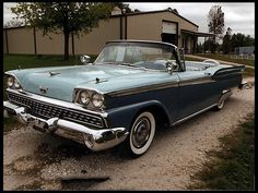 1959 Ford Skyliner  322 CI, Automatic