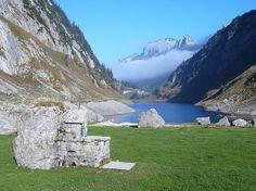 Lake Fälensee in Appenzell Innerrhoden