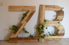 Tipografia con plantas  #tipografiademadera #woodsign #plagalab #recycled