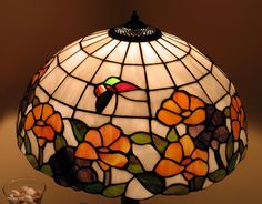 Stained-glass Lampshade Photograph by Suhas Tavkar
