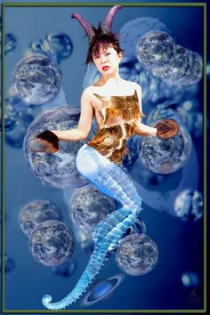 Capricorn by Larsifer Capricorn Images, Disney Characters, Fictional Characters, Disney Princess, Blog, Art, Art Background, Kunst, Blogging