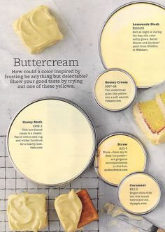 Buttercream Paint Colors: Like this look? Need help with a renovation? www.CooperHomesInc.com can do this for you if you are in the Metro-Atlanta area!